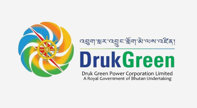Druk Green Power Corporation promotes, develops, and manages renewable energy projects, particularly hydropower, in an efficient, responsible and sustainable manner, and maximize wealth and revenues for Bhutan. It generates power from its already four developed hydro plants with an installed capacity of 1420MW