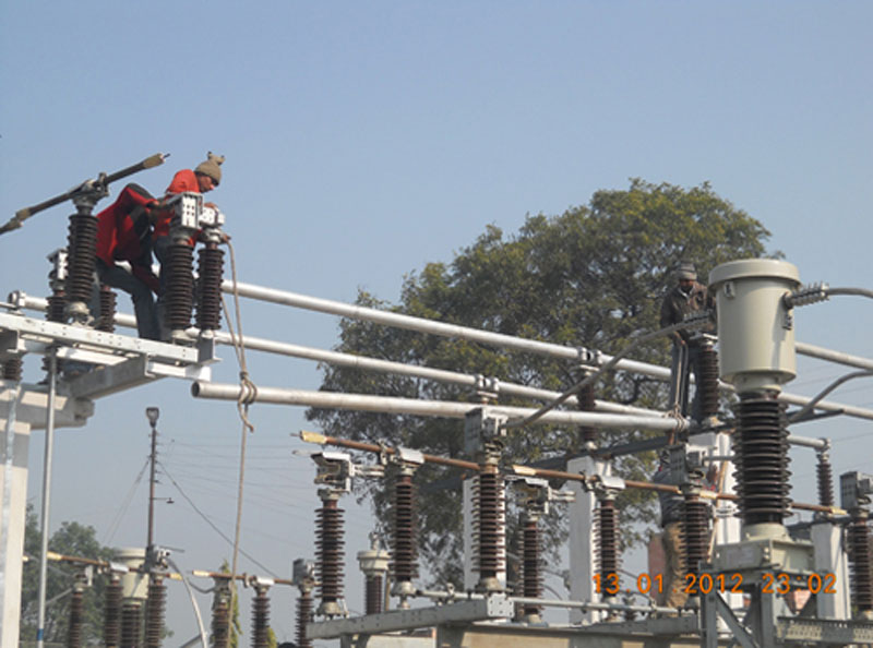 New Switchyard for Renovation, Modernization & Upgradtaion project of Mohammadpur Power House (3X3.1MW) is in progress