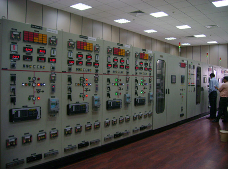 A view of newly installed Control room for Renovation, Modernization & Up gradation project of Mohammadpur Power House (3X3.1MW)